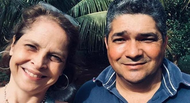 Drica Moraes e doador de medula, Adilson