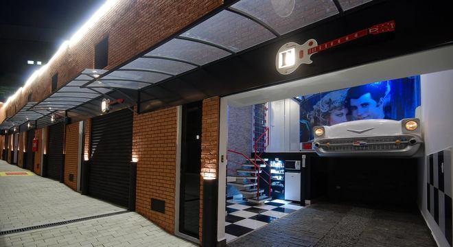 Drive-In Vintage, motel em que morreram Deise e Rodrigo