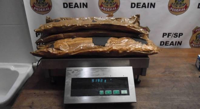 PF apreende 30 kg de cocaína em Aeroporto Internacional de São Paulo