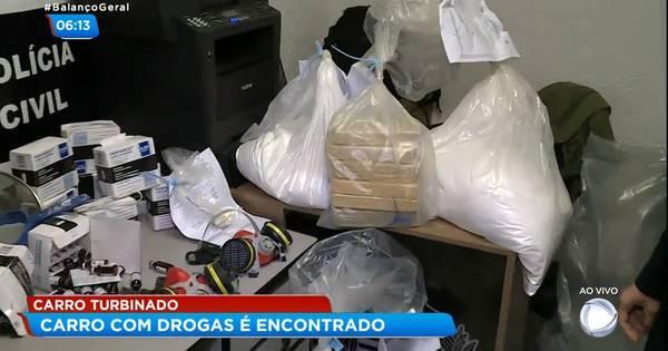 Polícia apreende 140 kg de cocaína e crack na Grande São Paulo