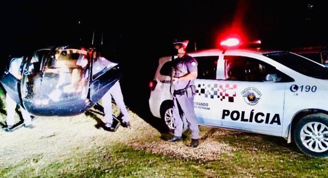 Droga foi descarregada em Piedade e o piloto foi detido em Ibiúna após pouso