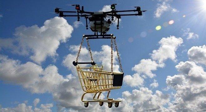 Walmart inicia testes para entregar compras por online por drones autônomos