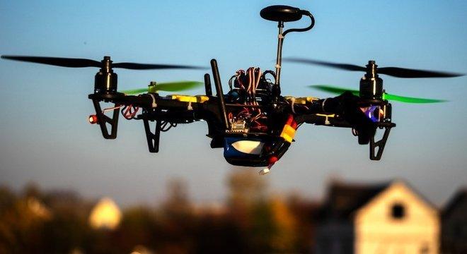 No Brasil, drones foram avistados por aeronaves 18 vezes em 2018