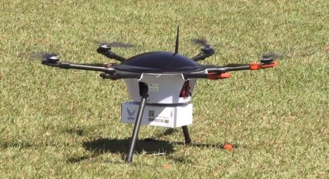 Drone da SMX realiza a primeira entrega no Brasil