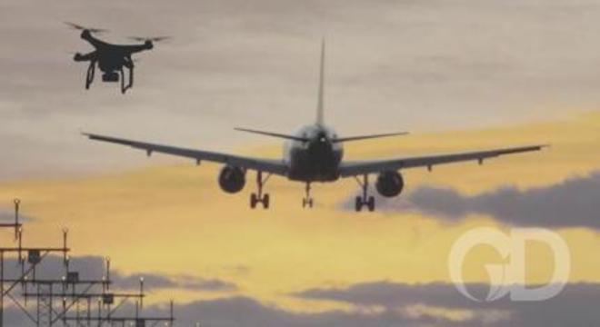 Drone Aeroporto