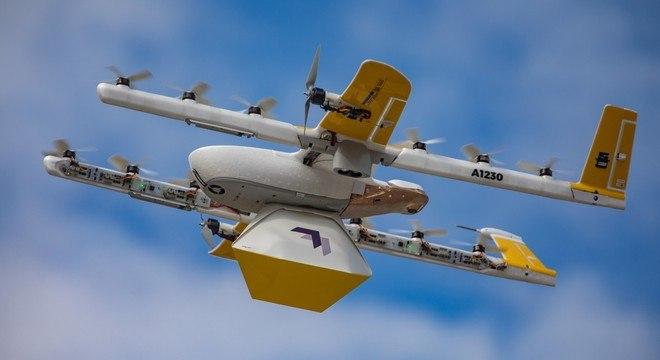 Drone de entrega Wing, da Google