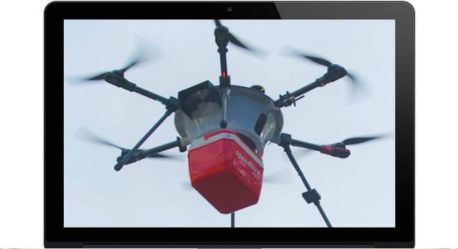 Empresa Speedbird recebeu certificado para testar entregas com drones
