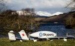 """""""O uso de entregas de drones nas cadeias de suprimentos pode criar economias significativas de tempo e custos"""