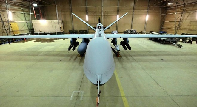 Os reapers, como esse usado no Afeganistão, têm capacidade de carregar mísseis com alto poder de fogo
