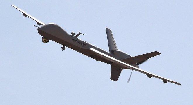 O drone americano MQ-9, o Reaper, é o principal modelo de drone armado sendo usado hoje pelos EUA e por alguns outros países