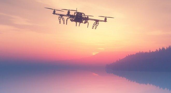 Autoridades britânicas estão investigando dois casos de drones que atrapalharam o funcionamento de aeroportos