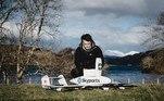 Drones estão sendo utilizados para fazer o transporte de testes de covid-19, medicamentos e equipamentos de proteção individual, como máscaras, na Escócia*Estagiário doR7sob supervisão de Pablo Marques