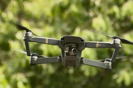 Drones estão equipados com câmeras de alta qualidade