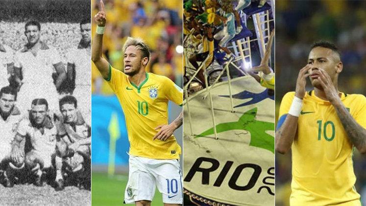 Duas Copas, uma Copa das Confederações, um Pan-Americano, uma Olimpíada... Não faltam histórias (boas ou más) em 70 anos de Maracanã. Confira!