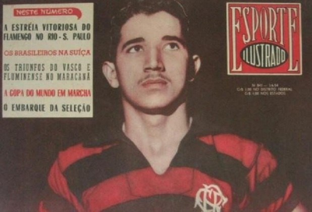 Duca foi atacante do Flamengo na década de 1950 e defendeu o clube em mais de 100 partidas. Nasceu em Recife, no Pernambuco.