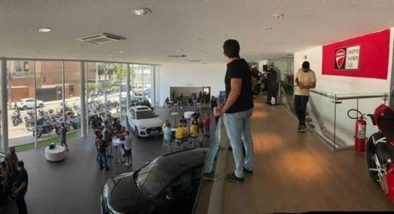 Loja dividirá espaço com concessionária da Audi