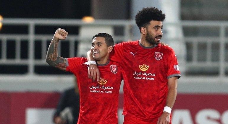 Dudu está cada vez mais integrado e respeitado no futebol do Qatar
