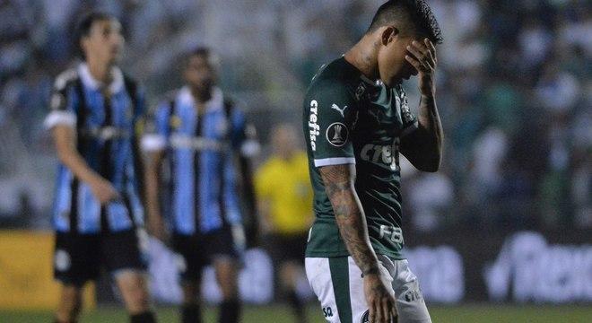 Palmeiras eliminado da Libertadores, outra vez, em casa. Desilusão