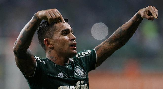 Dudu. Melhor atacante do Palmeiras pediu para jogar no Qatar