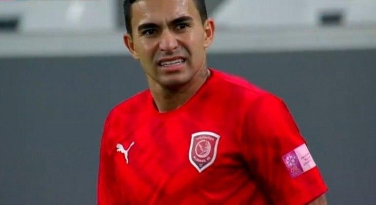 Dudu ouviu  hoje da direção do Al Duhail. O clube não irá comprá-lo