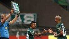 Com 'fome' de Libertadores e Brasileiro, Dudu surpreende o Palmeiras