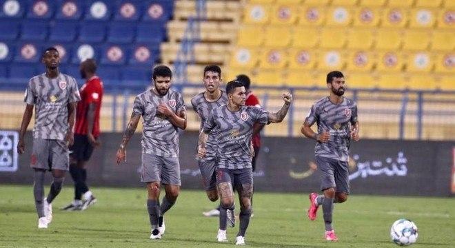 Dudu marcou seu quarto gol no Qatar. Terceiro seguido