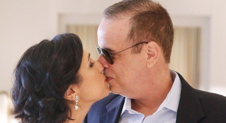 Viúva de Dudu Braga lamenta um mês da morte dele: 'Muito difícil'