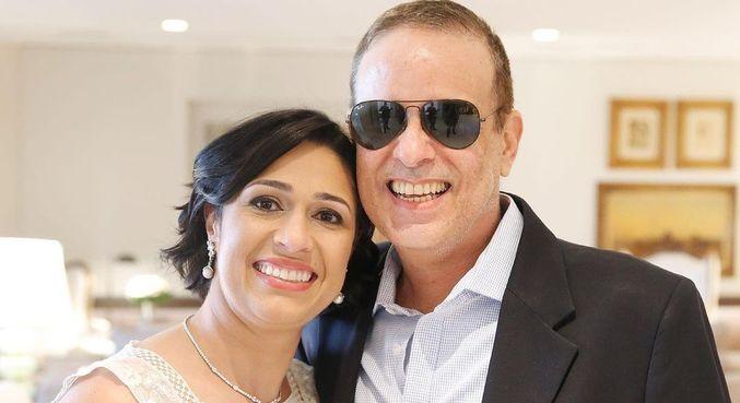 Valeska Braga agradeceu mensagens de apoio após morte do marido, Dudu Braga