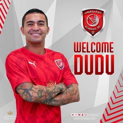 Dudu está emprestado ao Al-Duhail, do Qatar, até junho de 2021.