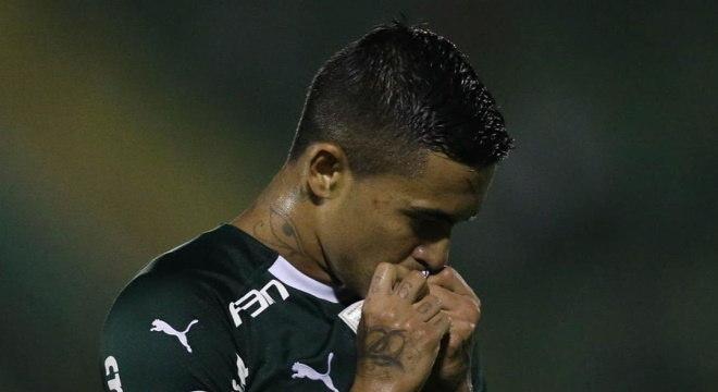 Dudu chegou ao Palmeiras em 2015 e agora está emprestado para o Al Duhai