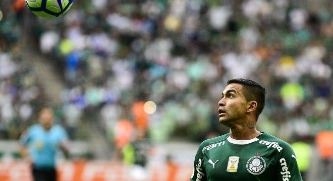 Dudu marcou um belo gol, mas não evitou o tropeço do Palmeiras