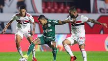 São Paulo e Palmeiras empatam no 1º jogo das quartas da Libertadores