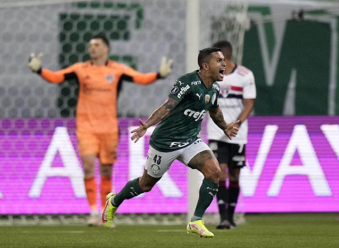 Dudu decisivo. Voltou do Catar para levar o Palmeiras à semifinal da Libertadores