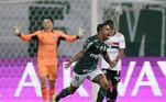 Dudu, Palmeiras x São Paulo, Libertadores 2021,