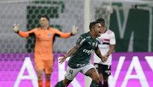 Dudu sem dó do São Paulo. Palmeiras na semifinal da Libertadores