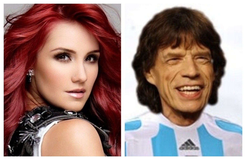 Pe Frio Dulce Maria E Chamada De Mick Jagger Da Copa De 2018
