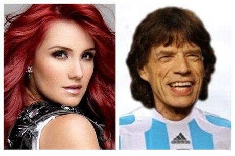 Dulce Maria seria tão pé frio quanto Mick Jagger?