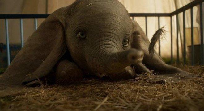 """Dirigido por Tim Burton, """"Dumbo"""" conta a história do elefante voador"""