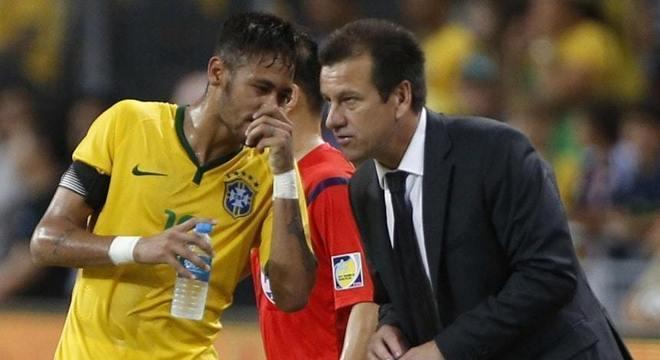 Até mesmo com Dunga, Neymar recebia tratamento diferenciado