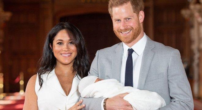 O filho de Meghan e Harry, Archie, nasceu em maio de 2019