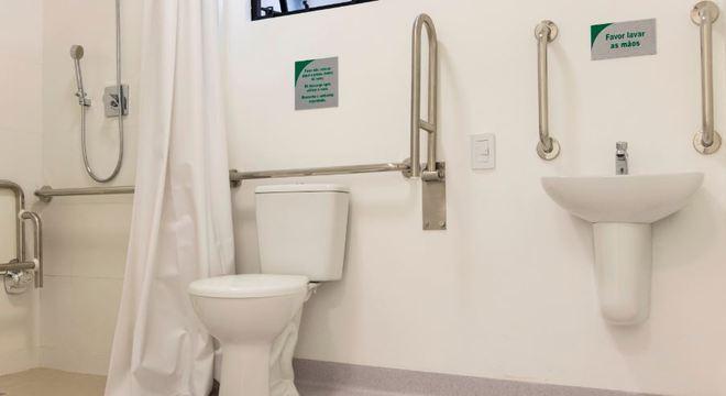 Metais e louças sanitárias foram doadas para hospitais de campanha