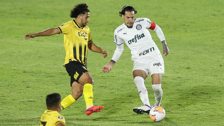 DÚVIDA - Gustavo Gómez: No Paraguai, está na mesma situação de Weverton. Escalação depende de como chegar ao Ceará, no dia do duelo das quartas de final da Copa do Brasil.