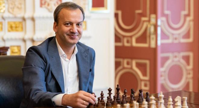 Dvorkovich, o presidente da FIDE