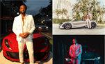 Um dos melhores jogadores da história do Miami Heat e três vezes campeão da NBA, Dwyane Wade mostra estar curtindo a vida após a aposentadoria em 2019. Em suas redes sociais, entre fotos com os amigos e família, o ex-jogador mostra sua paixão pelos carros de luxo. Com marcas como Ferrari, Audi, Mercedes, Alfa Romeo eMaserati, confira os carros que ele já ostentou