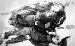 Segundo o modelo computacional dos dois, o bloco deslocado de neve pode ter sido de 5 m, o que explica o motivo de nenhuma autoridade forense da época ter identificado uma avalanche no local