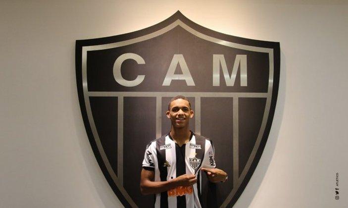 Dylan Borrero - Atlético Mineiro - 18 anos - meia - colombiano