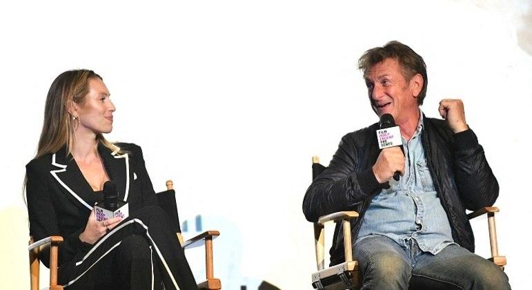 Dylan Penn é filha dos pesos-pesados de Hollywood Sean Penn e Robin Wright