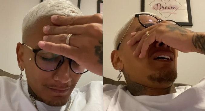 Em vídeo, Dynho Alves se emocionou ao comentar a morte de MC Kevin