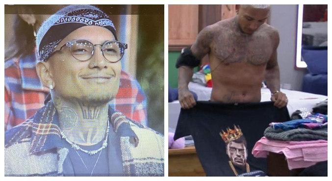 Dynho homenageou o amigo Kevin e usou camiseta estampada com o rosto dele