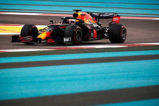 É a primeira pole-position da Red Bull em 2020.